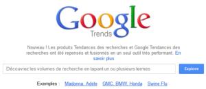 Nouveau google trends