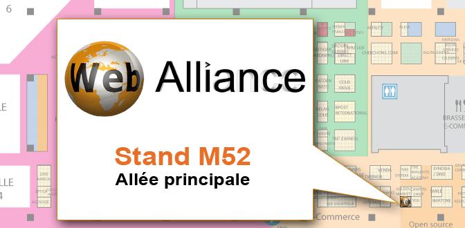 Web Alliance au salon E-Commerce Paris 2012