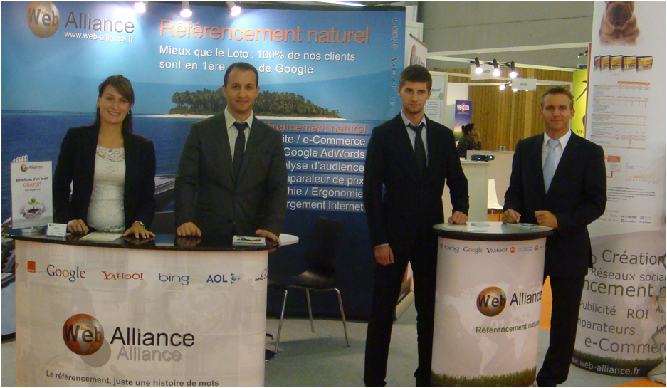 Web alliance au salon e commerce paris 2012 for Salon e commerce paris 2017
