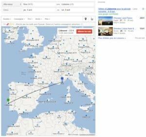 tracet visuel google fights francais