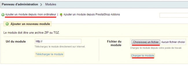 Comment installer un module sous Prestashop ?