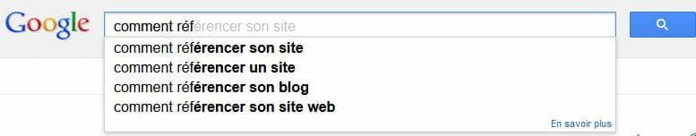 suggestions-google
