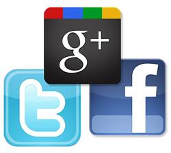 Statistiques sur Facebook, Twitter et Google+ [Infographie]