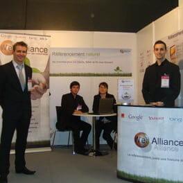 Janvier 2010 : Salon e-Marketing Paris
