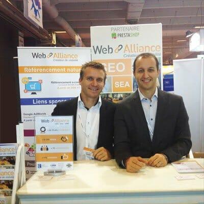 Septembre 2014 : Web Alliance présent sur le village prestashop au e-commerce Paris