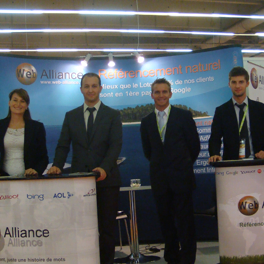 Septembre 2011 : Web Alliance est au salon e-Commerce Paris