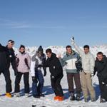 Février 2011 : Premier week-end au ski en équipe, qui deviendra une tradition par la suite
