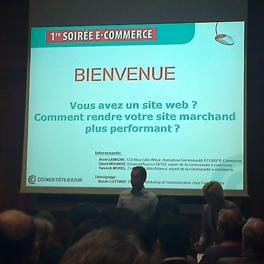 Octobre 2013 : Yannick devient Membre Expert de la communauté Ecobiz e-Commerce (CCI de Nice Côte d'Azur)