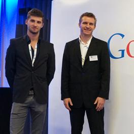 Novembre 2013 : Guillaume et Daniel chez Google