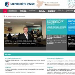 Avril 2015 : Web Alliance à l'honneur sur le site de la CCI Nice Côte d'Azur