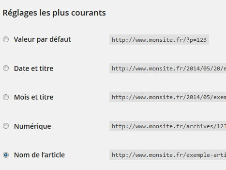 Référencement WordPress URL Rewriting