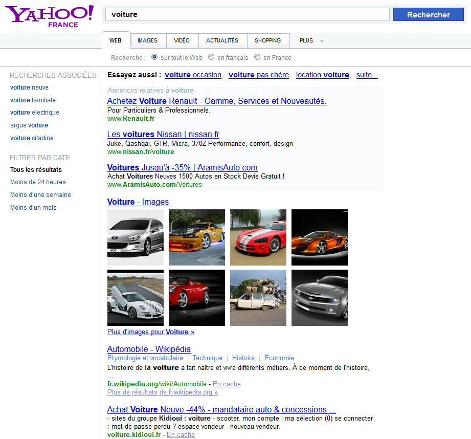 Site de rencontres yahoo