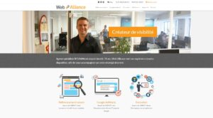 site agence seo et webmarketing Web Alliance