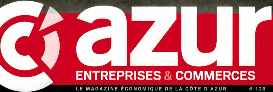 Web Alliance dans le magazine économique de la Côte d'Azur !