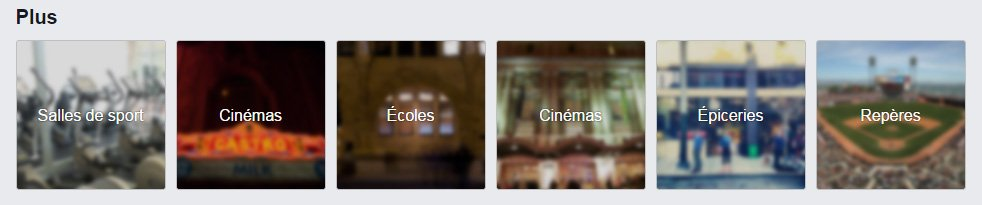 autres categorie facebook places