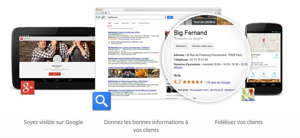Google My Business Catégorie