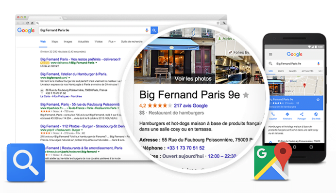 commentaires avis google mybusiness