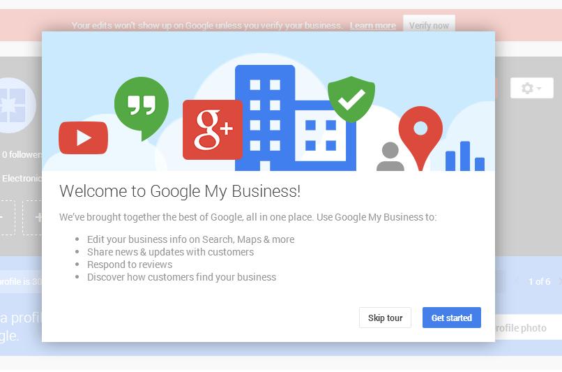Référencement local : créer une page my business - addresse