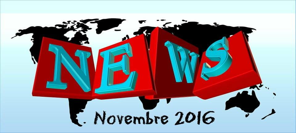 Actualités Web et SEO : ce qu'il ne fallait pas manquer en Novembre 2016