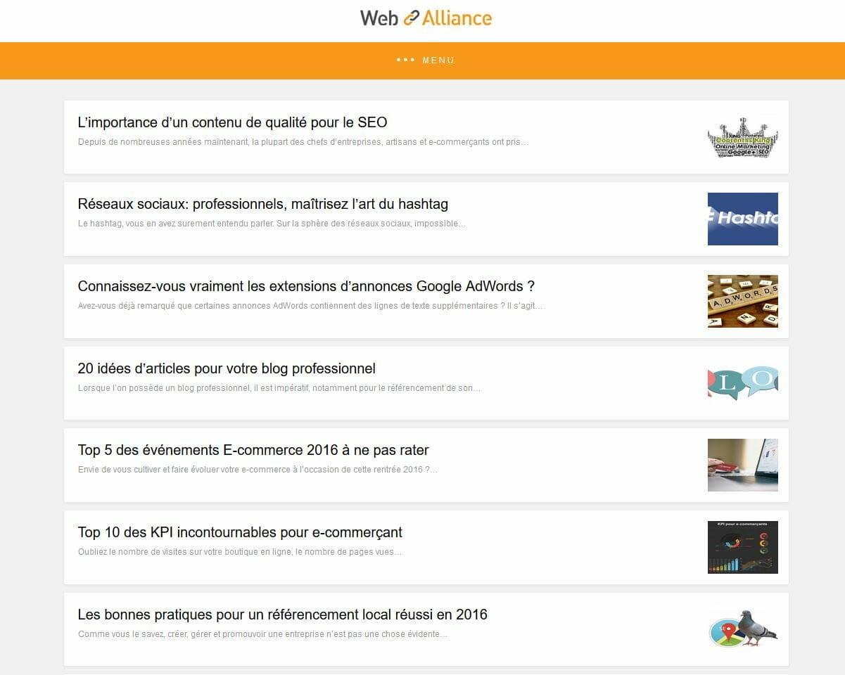blog web alliance amp