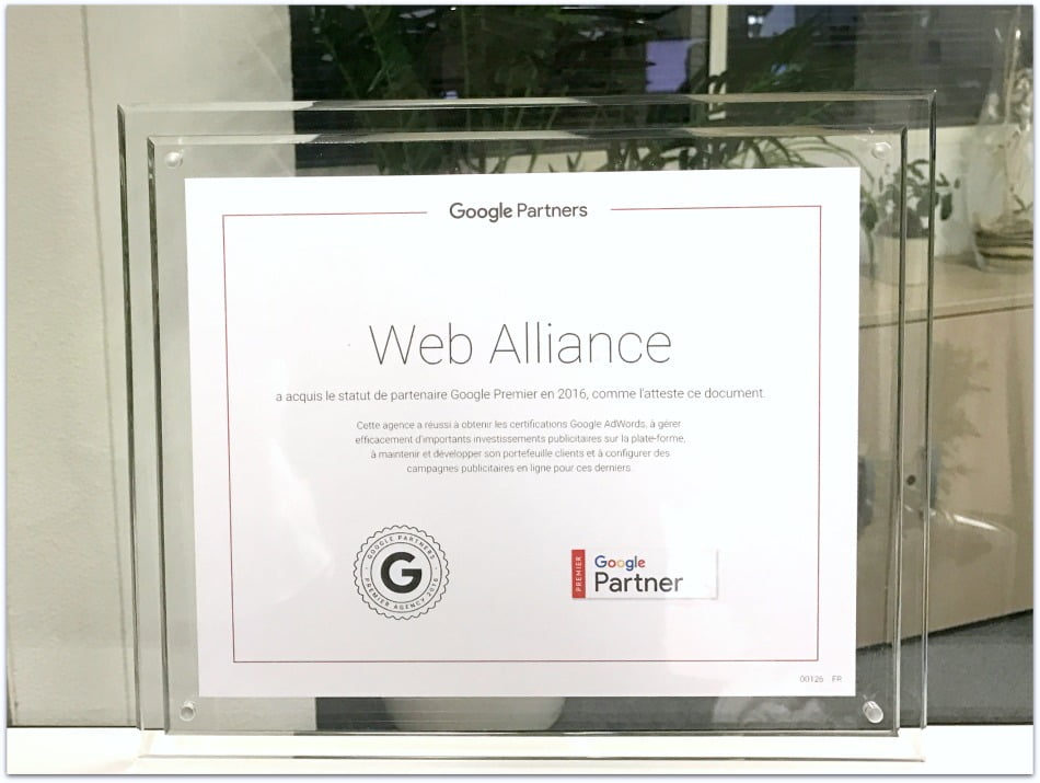 certification google premier partner