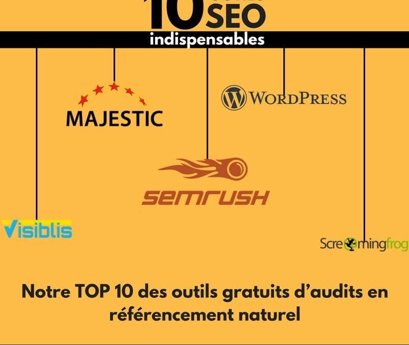 Notre top 10 des outils gratuits en référencement naturel