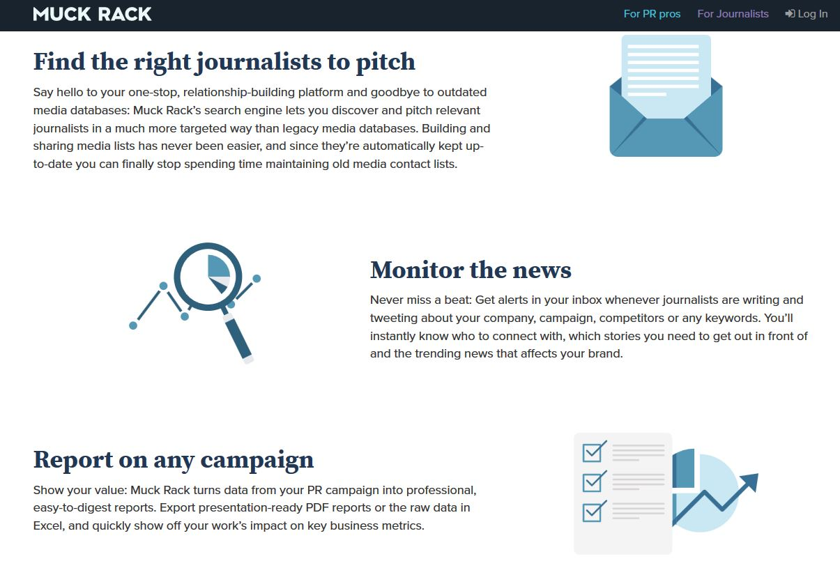 muckrack backlink journaliste media