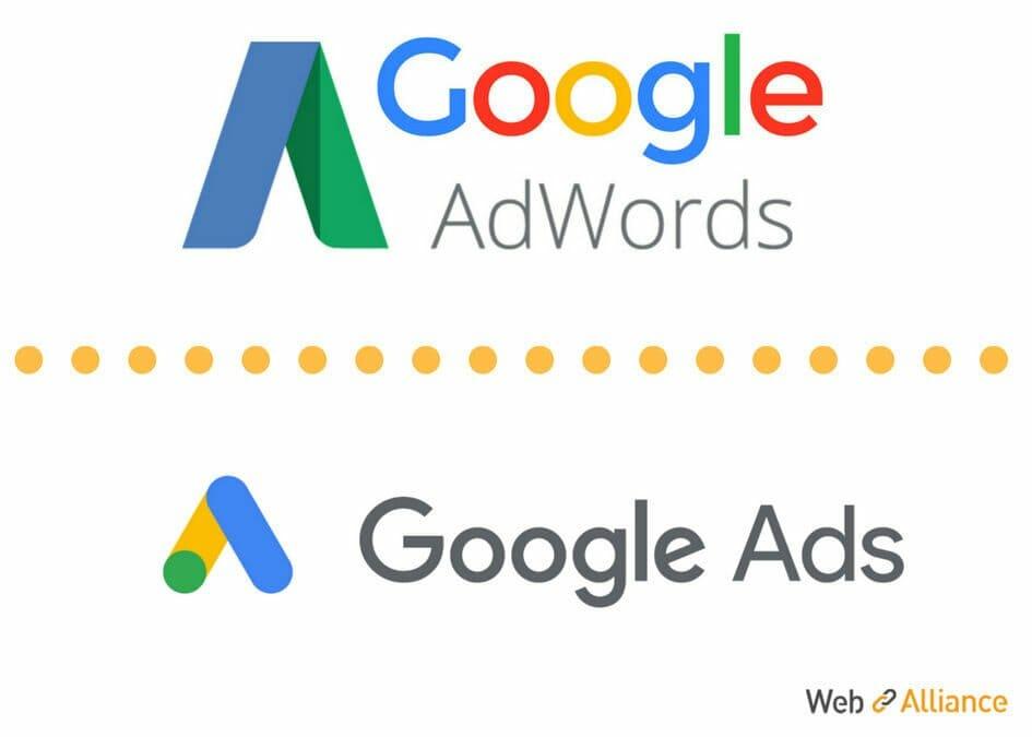 Google AdWords devient Google Ads : quelles nouveautés pour la rentrée ?