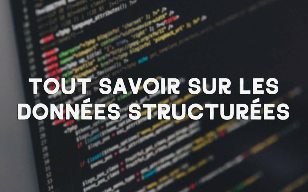 Données structurées, pourquoi les utiliser dans votre stratégie de référencement ?