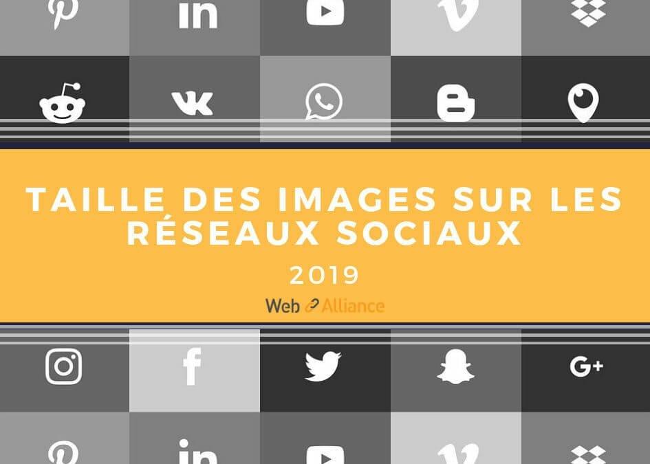 Le guide 2019 de la taille des images sur les réseaux sociaux