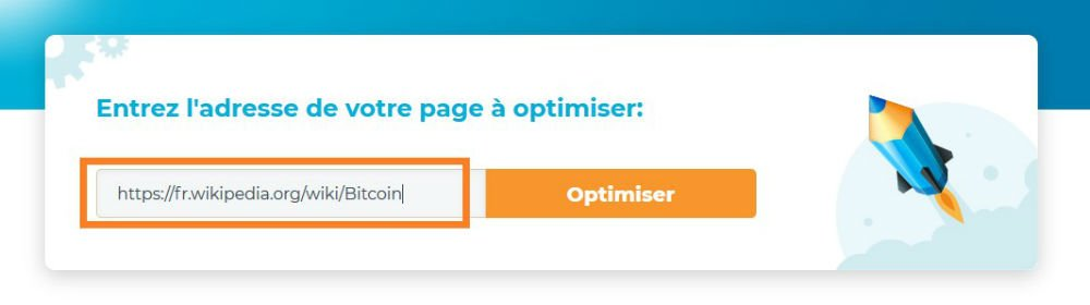 page web optimise