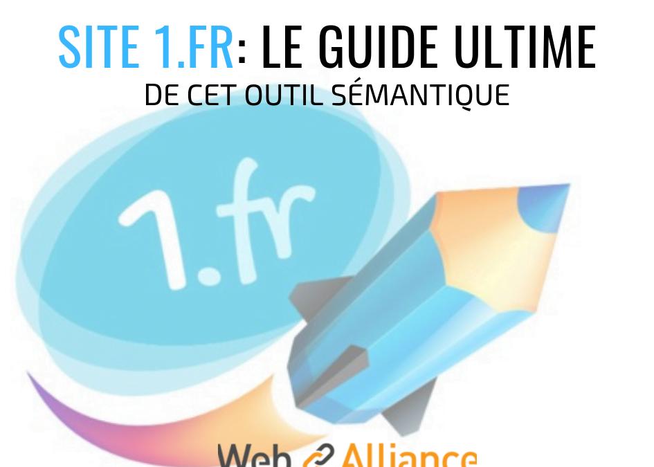 Analysez vos textes, optimisez le champ lexical et sémantique avec 1.fr