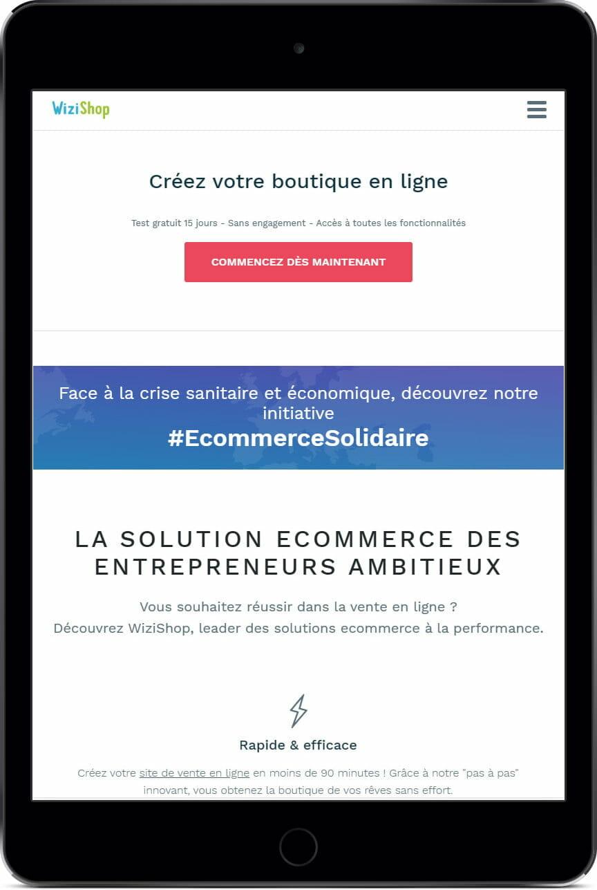 E-commerce Wizishop
