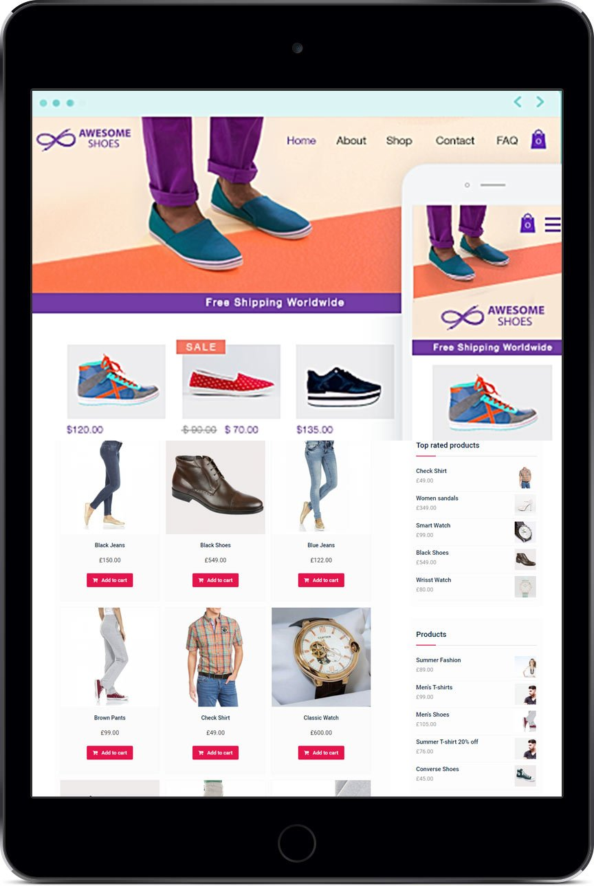 E-commerce WixStores